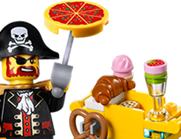 Figure Pizza Pirate
