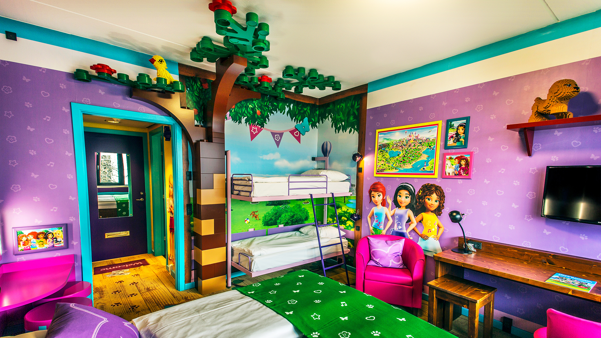 LEGO® Friends room